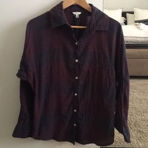 Plaid Heritage 1981 Forever 21 Button Down